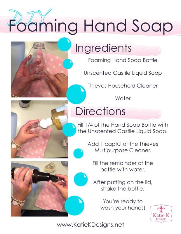 Foaming Dish Soap Recipe